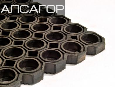 Резиновые коврики Бест 1000х1500х23 мм