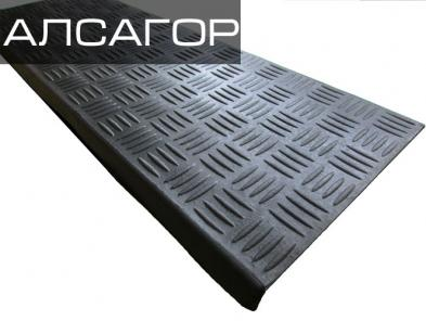 Резиновые накладки Токио 750x250x3.5 мм