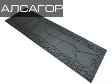 Резиновые накладки Стоун 850х260х4 мм