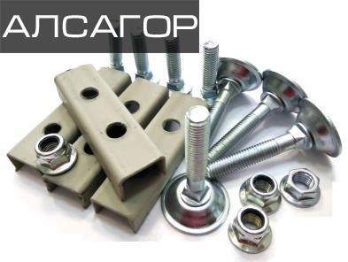 Комплект регулировочных ножек для стальной решетки