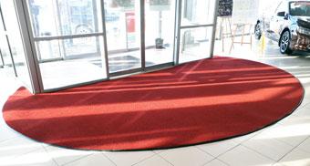 Грязезащитное ковровое покрытие для входной зоны