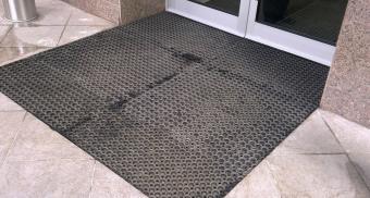 Резиновые покрытия для входа в офис