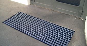 Напольные алюминиевые решетки для организации
