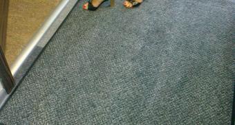 Ворсовые коврики для офиса