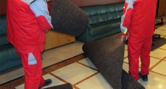Набор ворсовых ковров для коммерческого банка