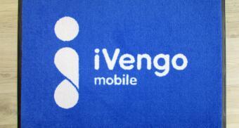 Напольный коврик с логотипом компании на заказ