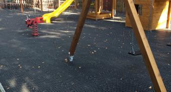Резиновые покрытия для детской площадки
