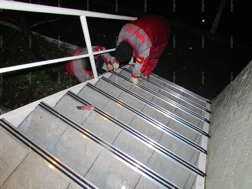 Установит лестничные ступени город истра жби